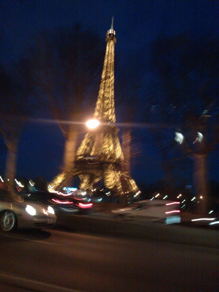 A Porsche in Paris