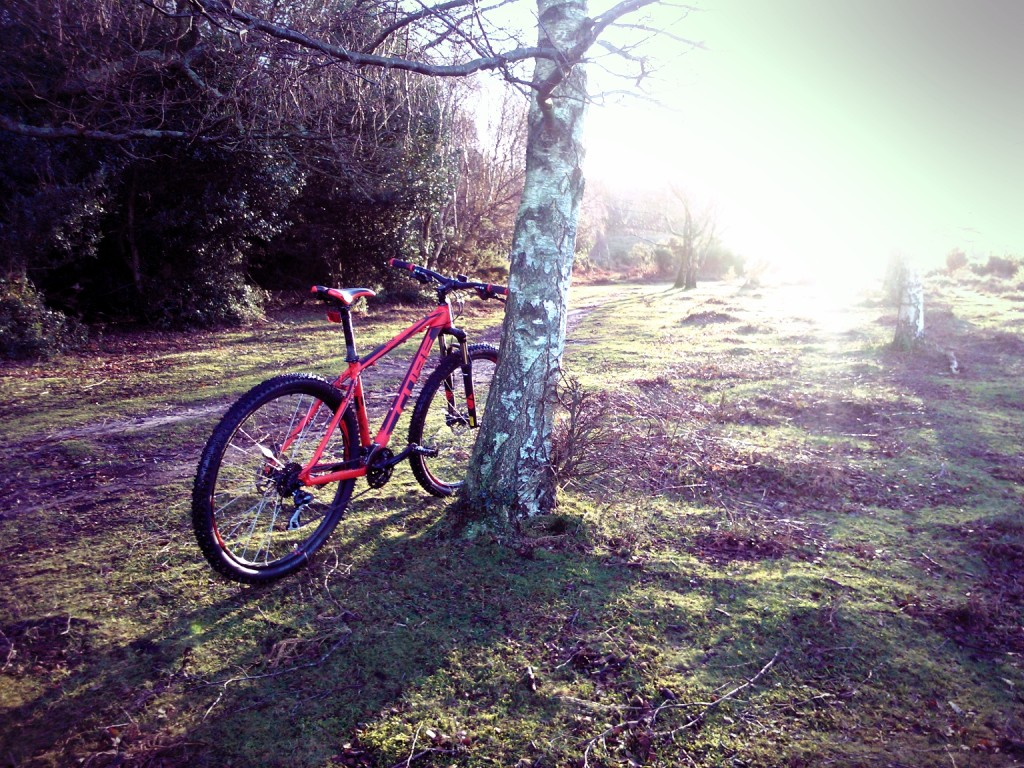 Putting my new Cube AIM Disc 29er through it's paces.